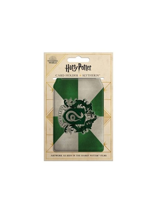 Tarjetero Slytherin - Harry Potter