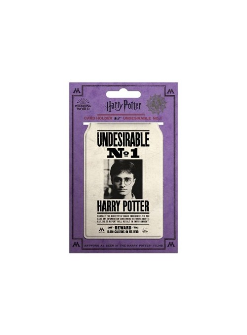 Tarjetero Wanted Poster - Harry Potter