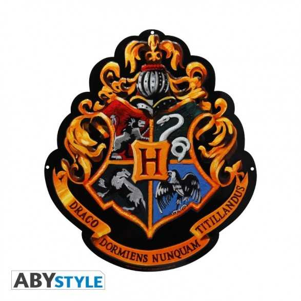Placa Hogwarts - Harry Potter