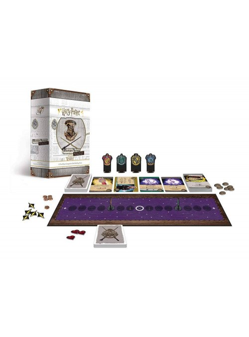 Juego de Cartas Deck-Building Hogwarts Battle Defence Against The Dark (Edición Inglés) - Harry Potter