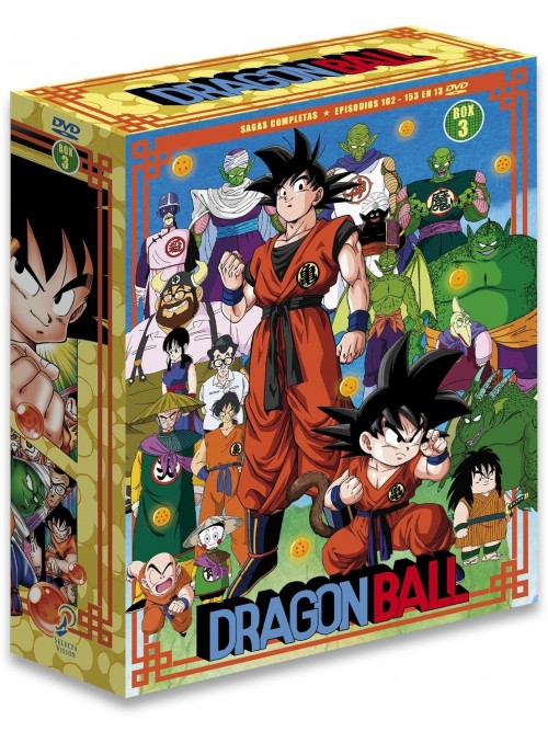 Dragon Ball Saga Completa Box 3 ep 109 al 153 .DVD