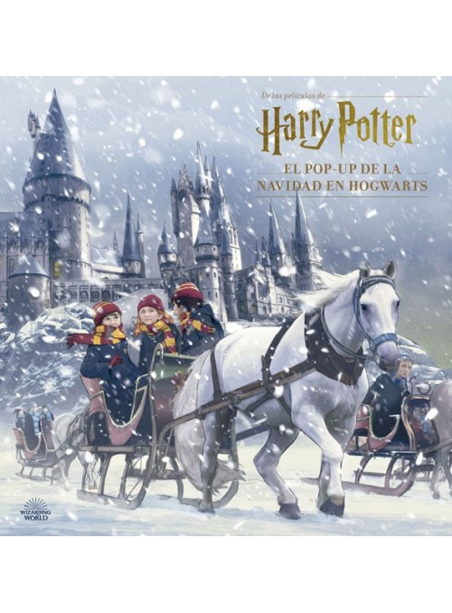 Harry Potter : El POP-UP de la Navidad en Hogwarts
