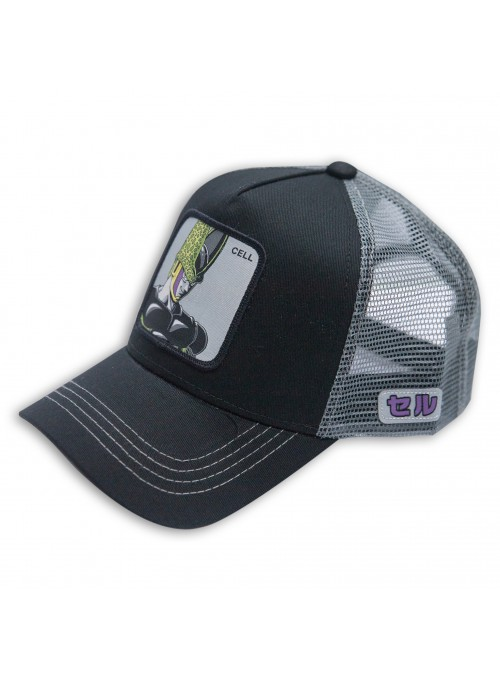 Gorra Capslab Cell Negra - Dragon Ball
