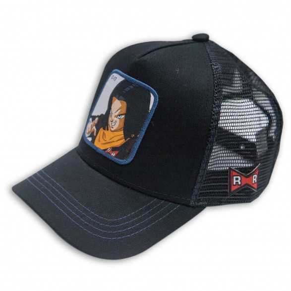 Gorra Capslab c-17 Negra - Dragon Ball