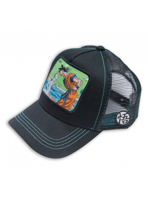 Gorra Capslab Namek ( Goku vs Freeza ) negra - Dragon Ball
