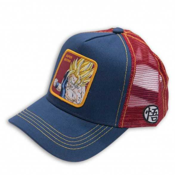 Gorra Capslab Goku Super Saiyan azul - Dragon Ball