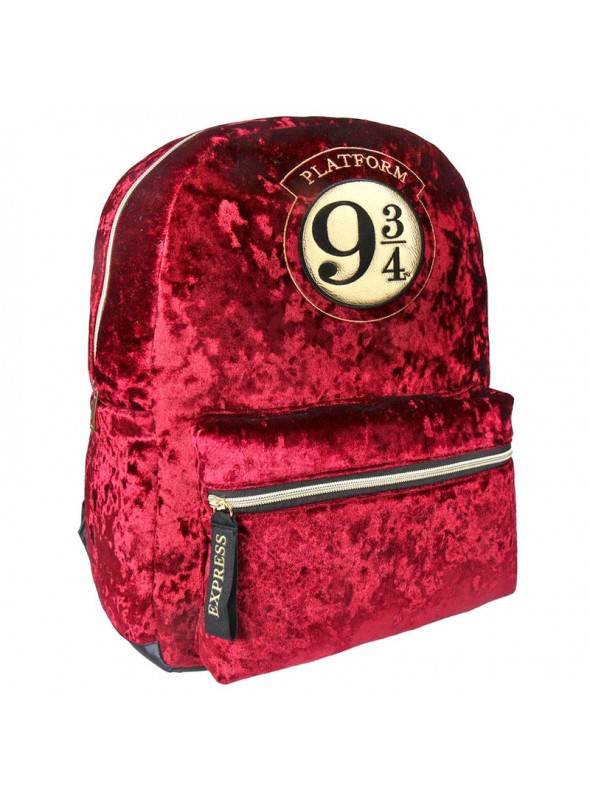 Mochila terciopelo Casual Fashion Platform 9 3/4 - Harry Potter
