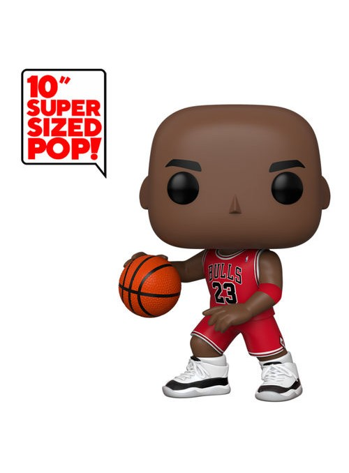 Figura Funko POP Michael Jordan (Red Jersey) 25 cm - NBA (Bulls)