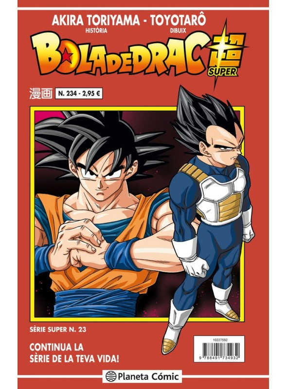 Dragon Ball Serie Vermella Nº 234 - Dragon Ball