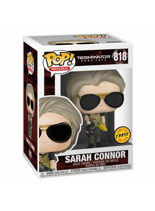 Figura Funko POP Sarah Connor (Chase) - Terminator Dark Fate