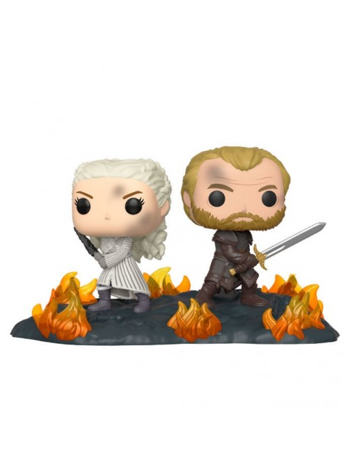 Figura Funko POP Daenerys & Jorah B2B with Swords - Juego de Tronos
