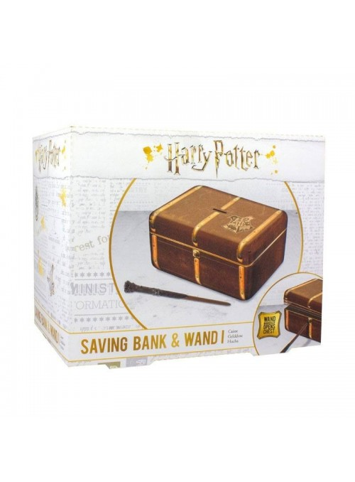 Hucha Hogwarts Trunk - Harry Potter