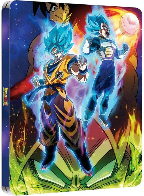 Super Broly Edición Metálica Blu-ray - Dragon Ball