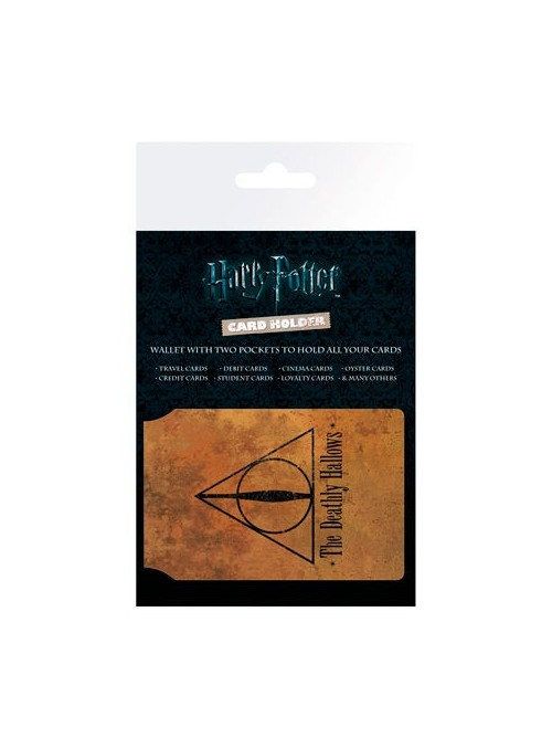 Tarjetero Deathly Hallows - Harry Potter