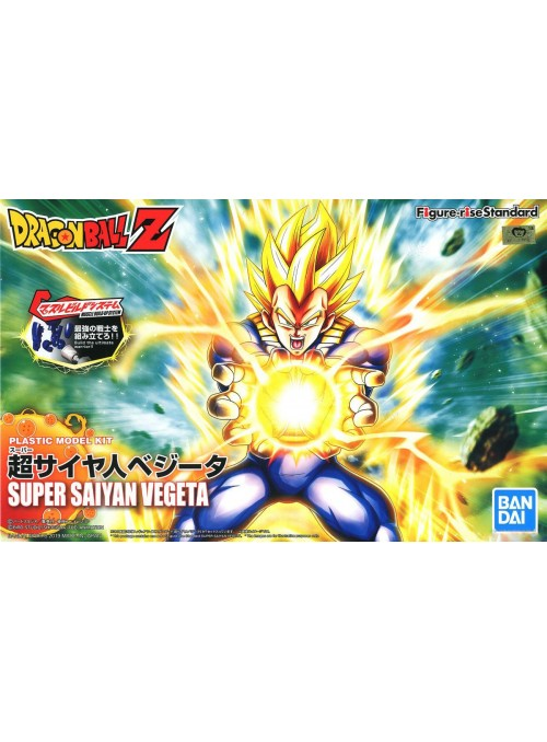 Figura Super Saiyan Vegeta - Model Kit - Dragon Ball