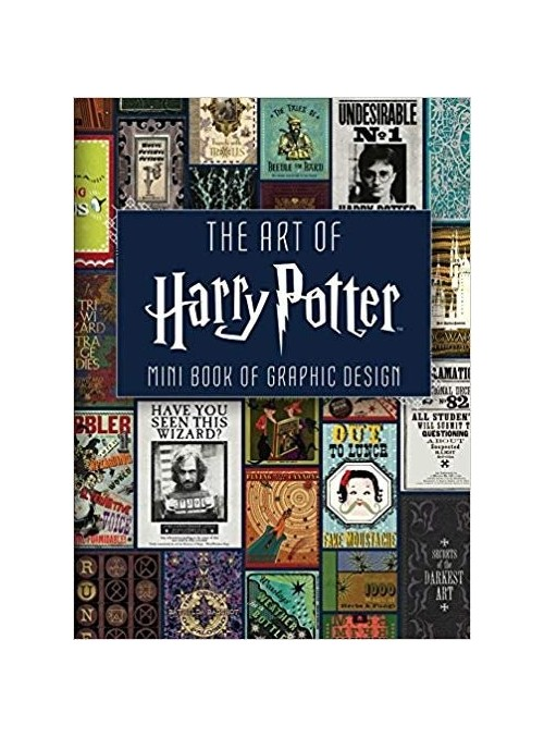 Mini art of Harry Potter grafhic design