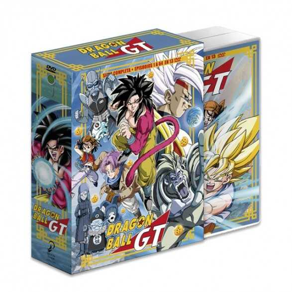 Dragon Ball GT Saga Completa  ep 1 al 64.DVD