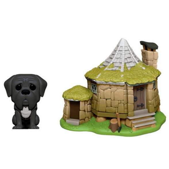 Figura Funko POP Hagrid's Hut with Fang - Harry Potter