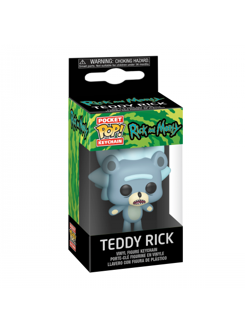 Llavero Pocket POP Keychain Teddy Rick - Rick & Morty