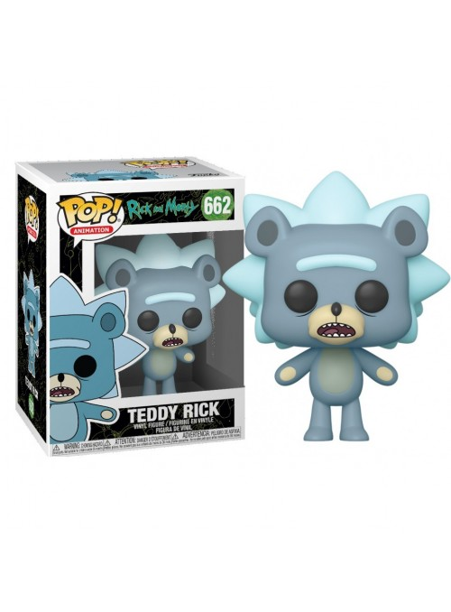 Figura Funko POP Teddy Rick - Rick and Morty