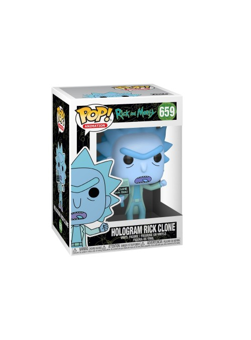 Figura Funko POP Hologram Rick Clone - Rick y Morty