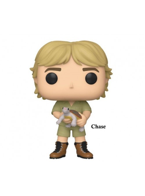 Figura Funko POP Steve Irwin (Chase)- The Crocodile Hunter