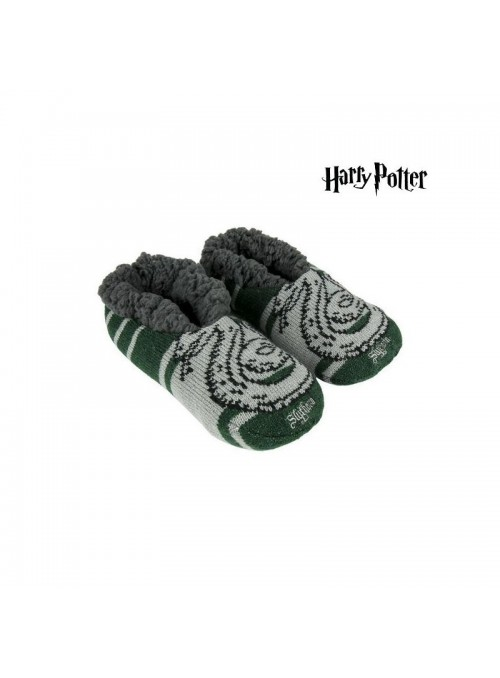 Zapatillas de Casa Suela Blanda Slytherin - Harry Potter