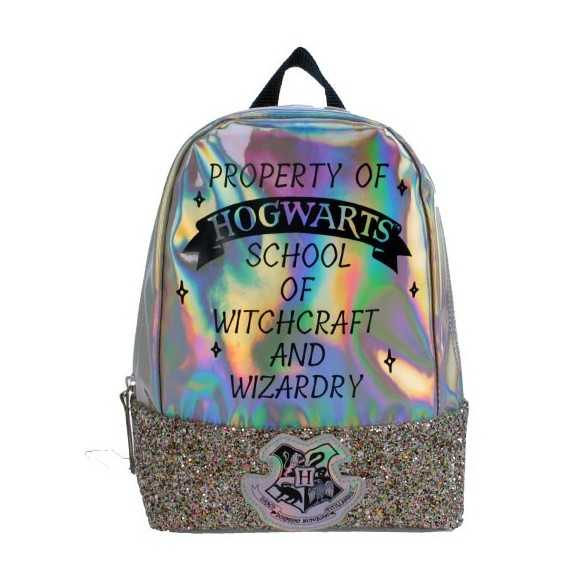 Mochila brillante Hogwarts - Harry Potter