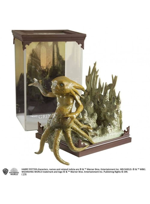 Harry Potter Estatua Magical Creatures Grindylow 13 cm