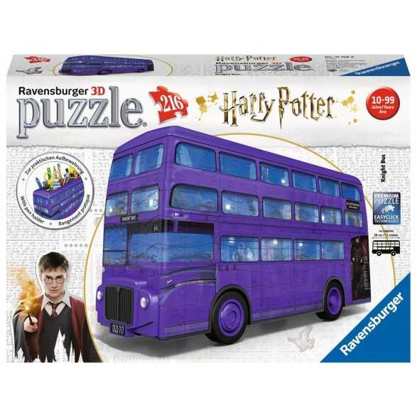 Puzzle 3D Bus Noctámbulo - Harry Potter