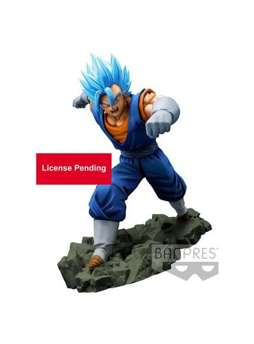 Figura Super Saiyan God Vegetto DBZ
