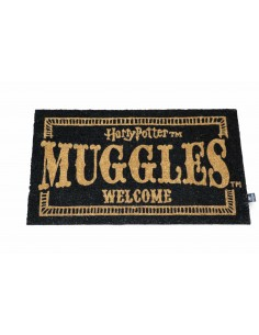Felpudo Muggles Welcome 42 x 72 - Harry Potter