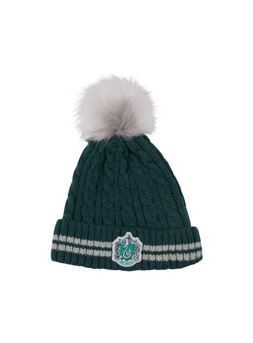 Gorro Slytherin con borla - Harry Potter