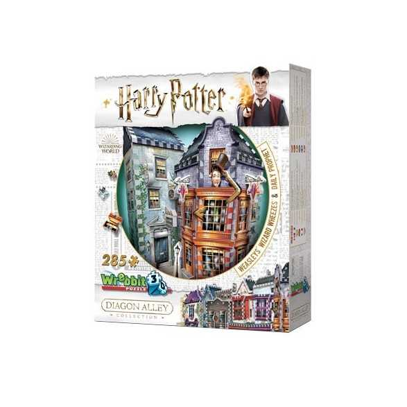 Puzzle 3D Weasleys Wizard Wheezes and Daily Prophet