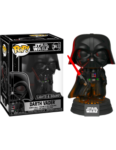 Funko POP Star Wars: Darth Vader Electronic con Luz y Sonido