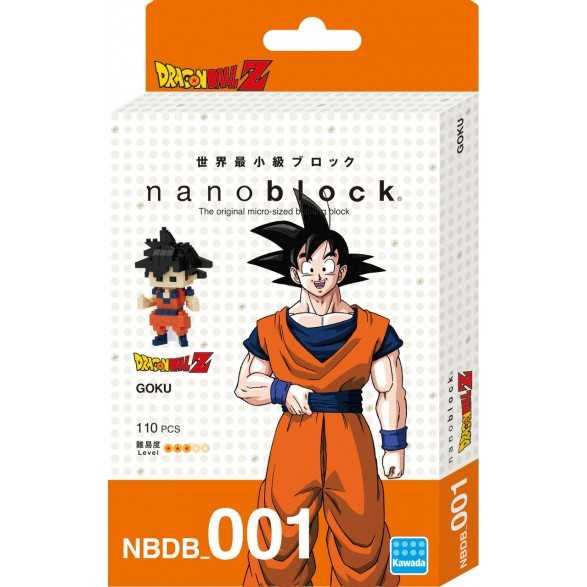 Nanoblock Goku 130 - Dragon Ball Z