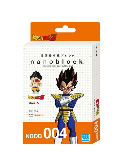 Nanoblock Vegeta 13 - Dragon Ball Z