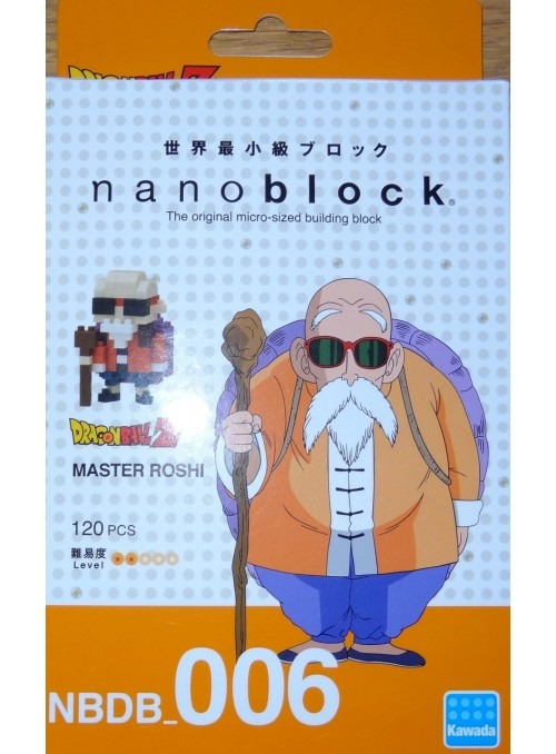 Nanoblock Roshi 130 - Dragon Ball z