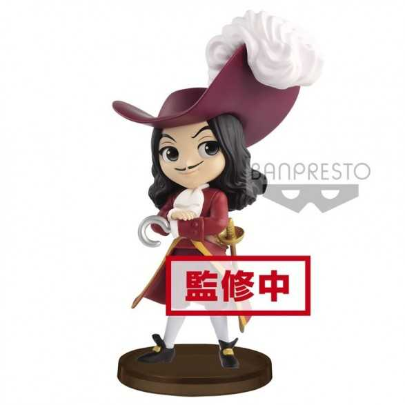 Mini Figura Q Posket Captain Hook 14 cm - Peter Pan