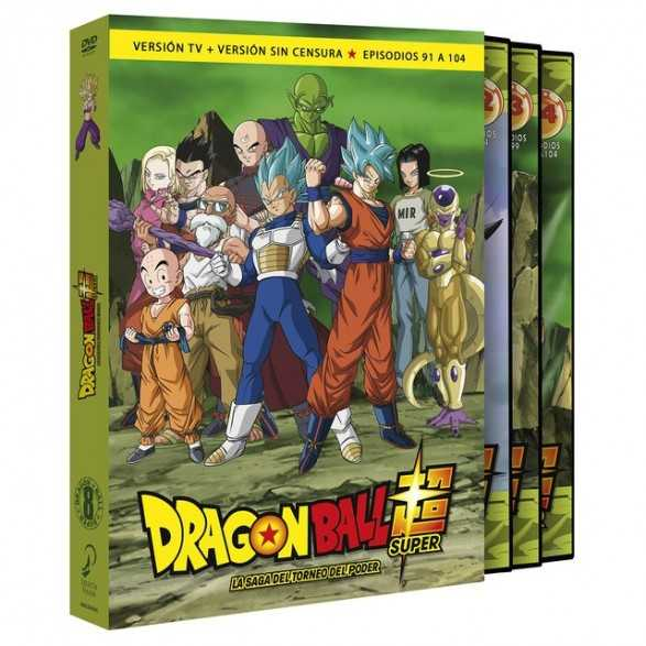 Dragon Ball Super Box 8 (DVD) - Dragon Ball Super