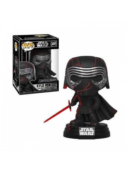 Figura Funko POP Rise of Skywalker - Kylo Ren (Elect& Sound)- Starr Wars