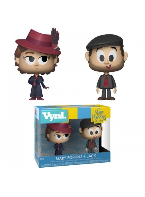 Set 2 Figuras VYNL Mary & Jack - Mary Poppins