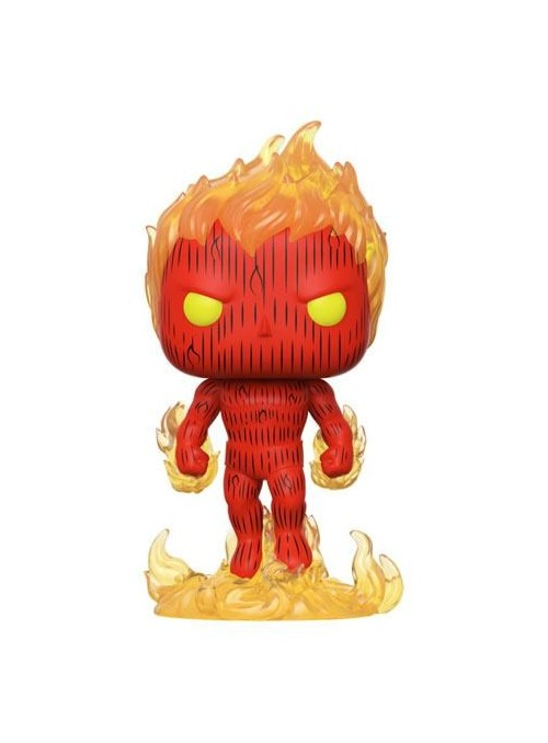 Figura Funko POP Human Torch - Marvel Fantastic Four