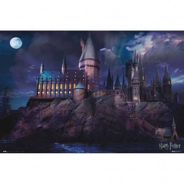Poster Hogwarts - Harry Potter