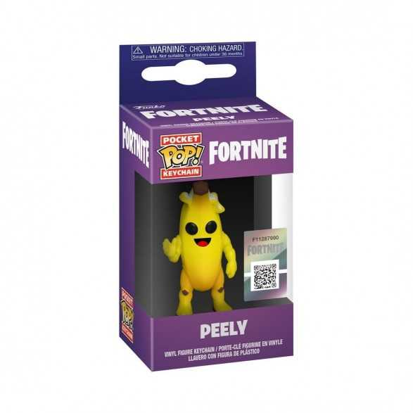 Llavero POP Keychain: Peely - Fortnite