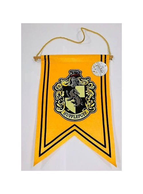 Bandera Hufflepuf 47 x 31 cm - Harry Potter