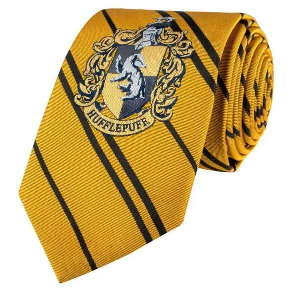 Corbata Hufflepuff adulto - Harry Potter