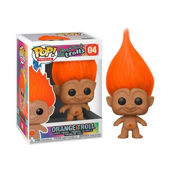 Figura Funko POP Orange Troll - Trolls