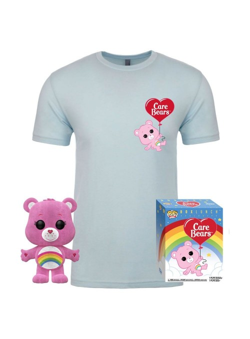 Care Bears POP! & Tee Set de Minifigura y Camiseta Cheer Bear