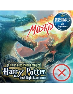 "Sábado 1 Febrero: 11:00-12:30 ""Harry Potter Book Night Experience Madrid"""